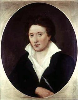 Portait de Percy Bysshe Shelley (par Amelia Curran, 1775-1847)