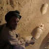 Les fouilles des différents secteurs du temple