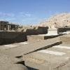 Les voies processionnelles du Ramesseum
