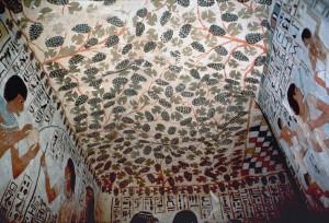 La tombe aux vignes ou caveau de Sennefer